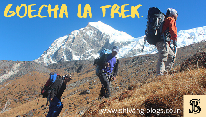 how to prepare for goecha la trek